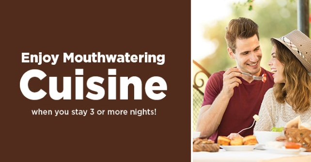 Enjoy Mouthwatering Cuisine at the Restaurant (Up to $25 value)
